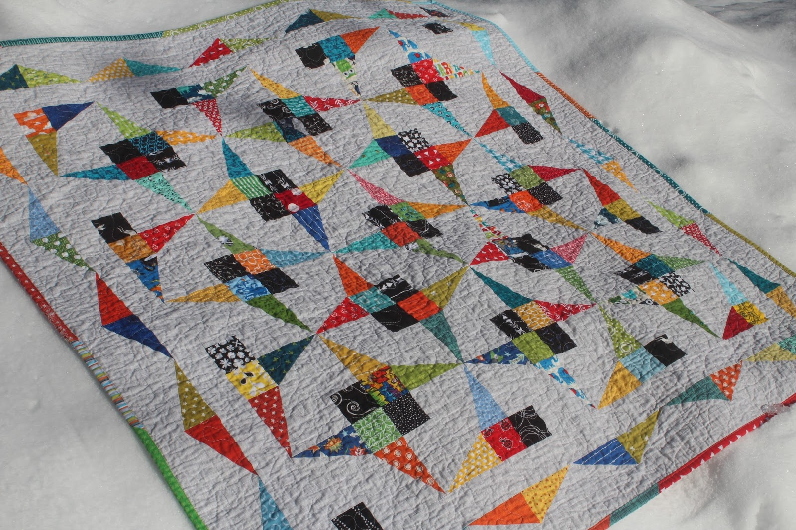 It S Maggie Made The Scrappy Flutterby Quilt