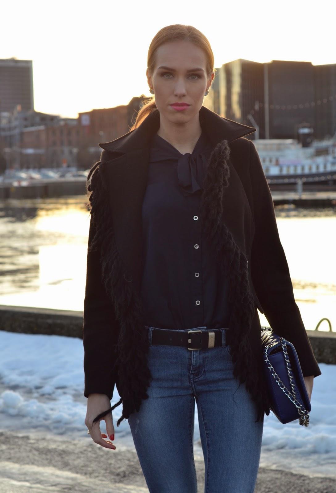 fringe-jacket-pussy-bow-blouse-jeans kristjaana mere