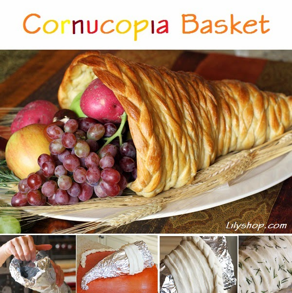 http://www.lilyshop.com/how-make-cornucopia