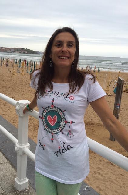 Eva Rogado Camiseta Esther Moran Design