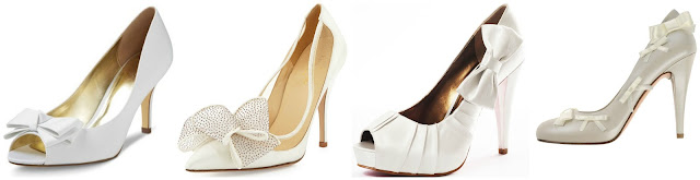 One of these is the new pair of Lovely Bow Pumps from Kate Spade for $350 and the other three are under $51. Can you guess the Kate Spade pair? Click the links below to see if you are correct!
