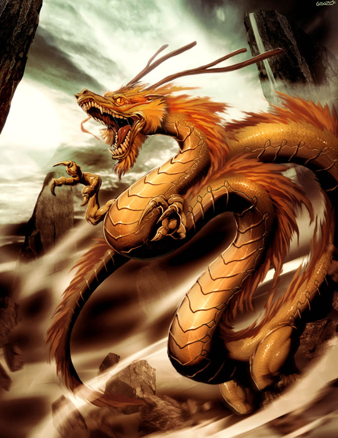 A Dragons Lair Images Gallery Dragon Shenlong