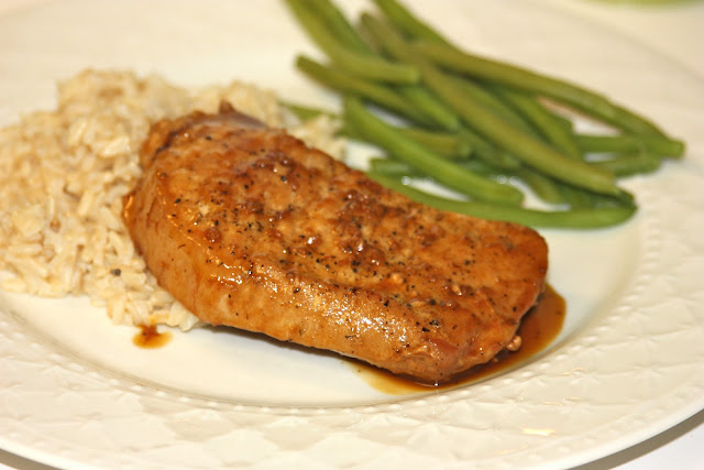 Orange Soy Pork Chops