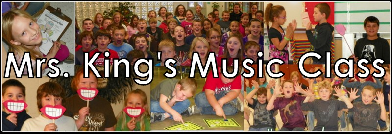 Mrs. King&#39;s Music Room