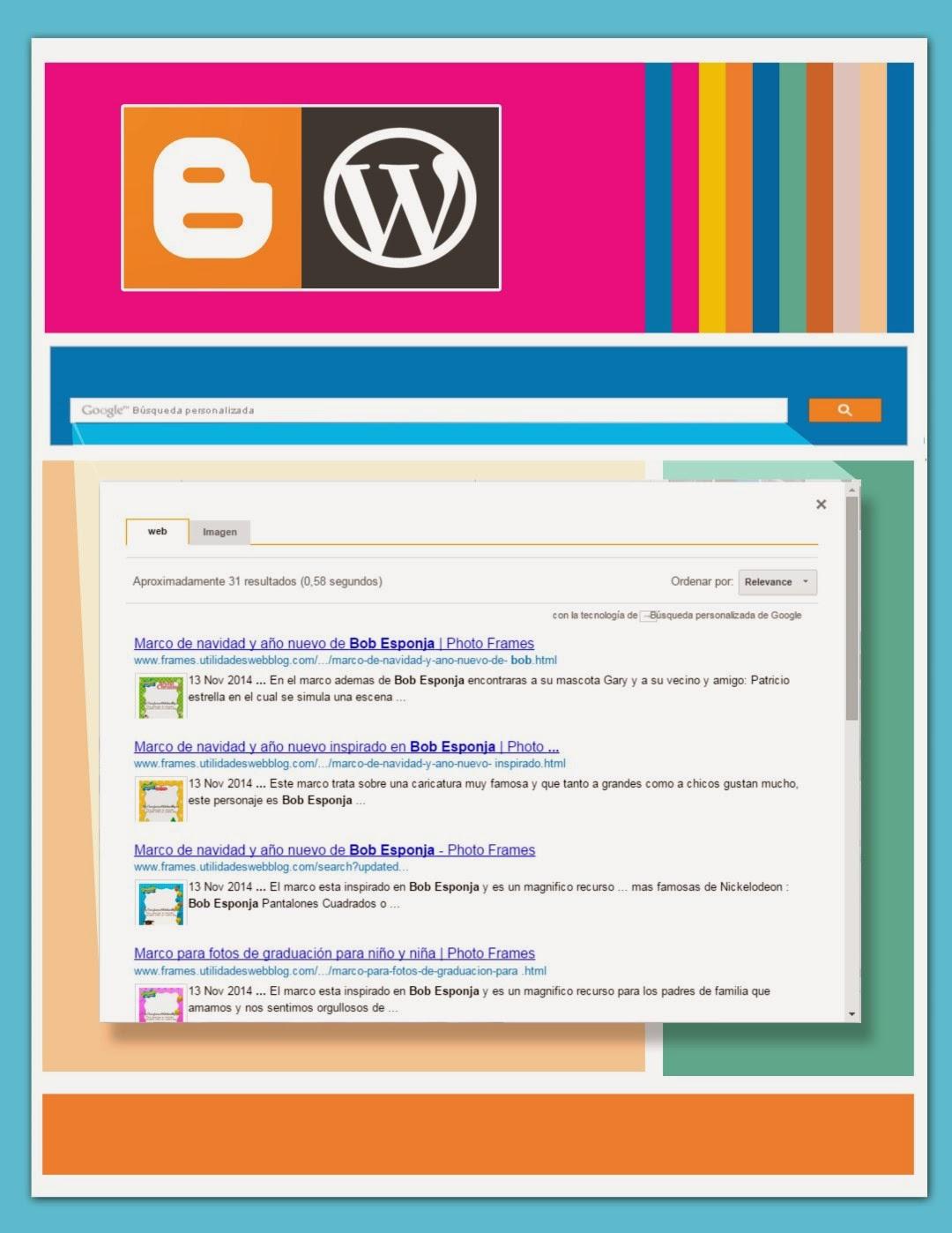 Como crear y añadir un buscador interno de mi blog y otros blogs