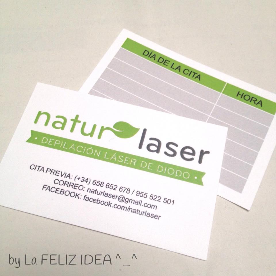 Laser hair removal brand design / Diseño de logo para depilación láser