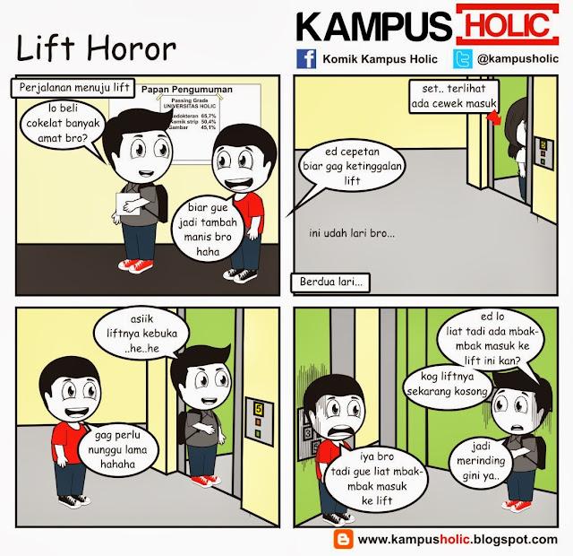 #299 Lift Horor