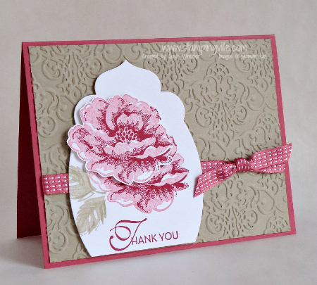 Stampin' Up! Stippled Blossoms Stamp Set