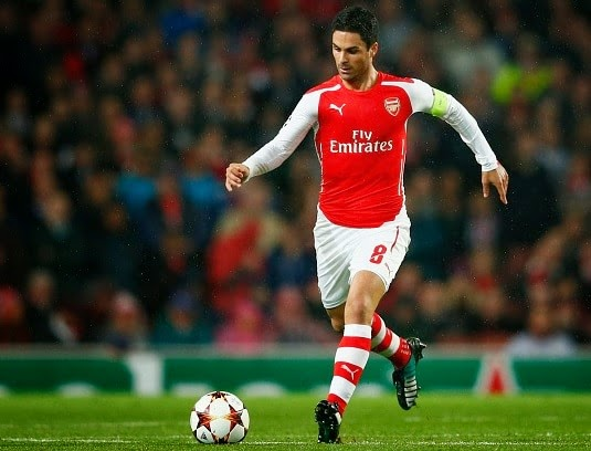 Arsenal boss Wenger updates Mikel Arteta injury