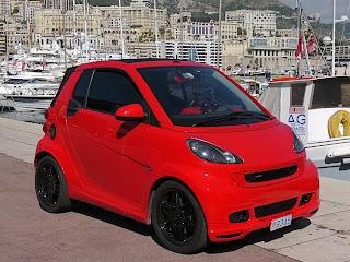 Famous Brabus smart car