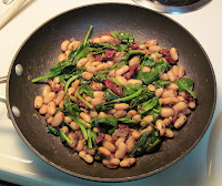 Cannellini Beans with Spinach & Sun-Dried Tomatoes