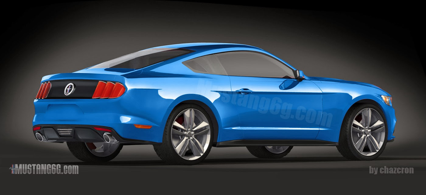 2015 Ford Mustang Computer-Generated Image
