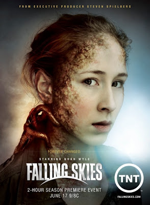 "Falling Skies Season 2 on TNT Teaser Poster - ""Forever Changed"""