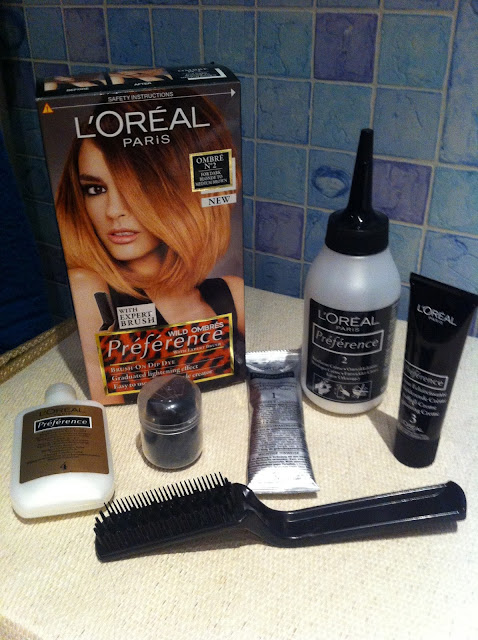 L'oreal Wild Ombre Kit Results // Review