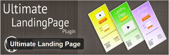 Ultimate Landing Page plugin for WordPress