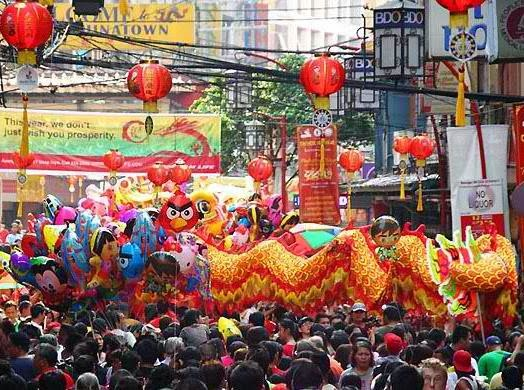 instead of celebrating the chinese lunar new year in your home you can join the event in chinatown manila expect various festivities and offering