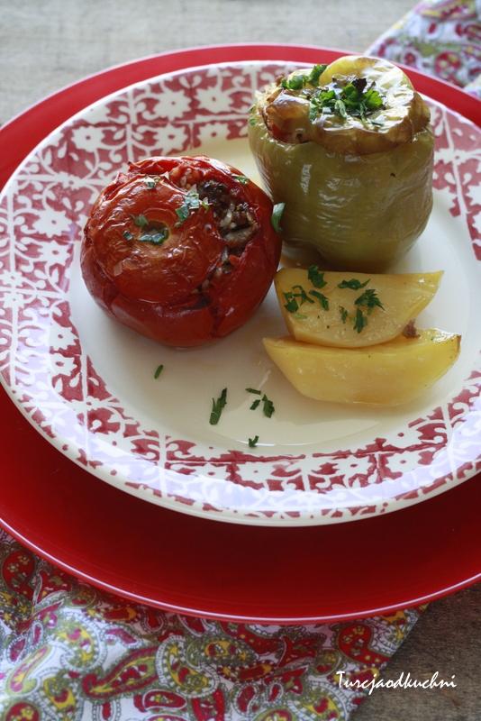 Gemista - faszerowane warzywa na sposob grecki