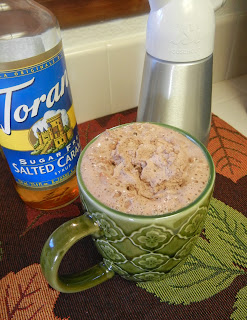 Torani+Sugar+Free+Salted+Caramel+Syrup+Cocoa Weight Loss Recipes A day in my pouch