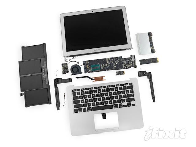 2013 MacBook Air 13吋 被拆解