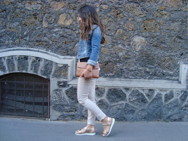 scarpe glitter, outfit stylegram