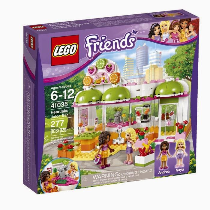 TOYS - LEGO Friends - 41035 Bar de Zumos de Heartlake City  Juguete oficial | Heartlake Juice Bar | A partir de 6 años
