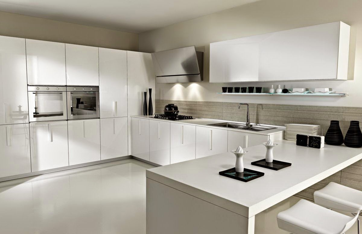 Variety Sample White Kitchen Design Image