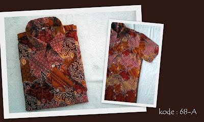 Baju Batik Pria 68A