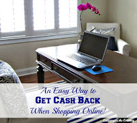 Get Cash Back When You Shop Online!