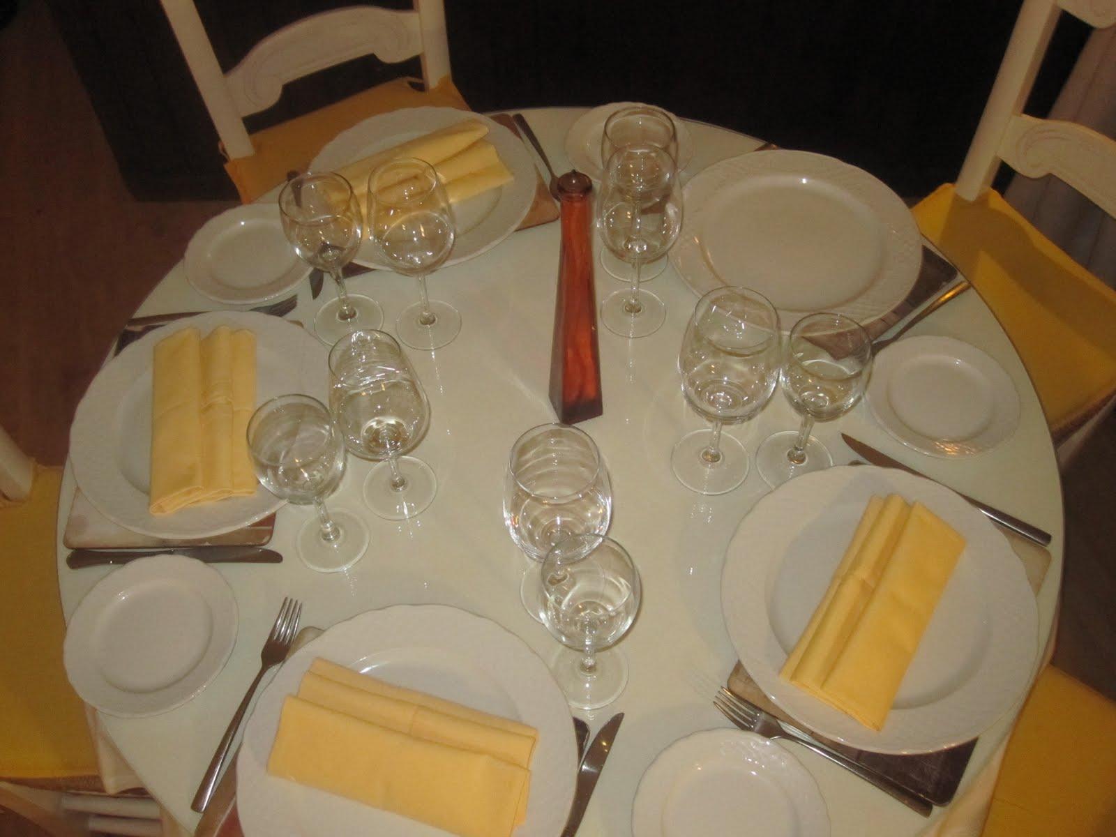 Protocolo y relaciones p blicas montaje mesa navidad for Como montar una mesa