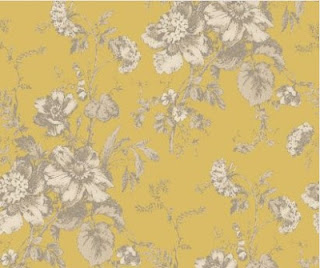 now i hadn t planned to buy yellow wallpaper but i thought it was ...: fivegoglamping.blogspot.com/2012/11/pretty-vintage-wallpaper.html