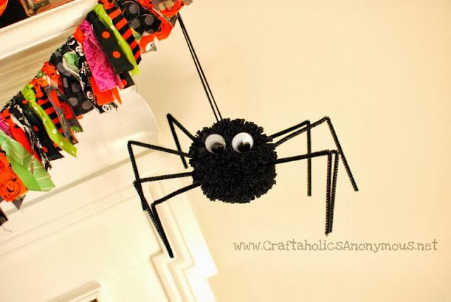Araña pompón 1