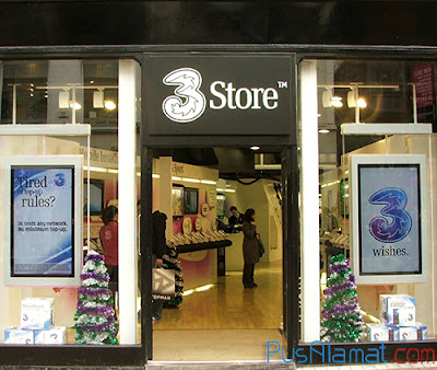 Alamat 3Store atau Customer Center Three 3 Resmi di Indonesia