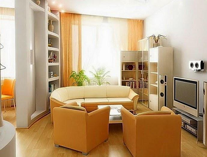 desain interior ruang tamu kecil mungil minimalis tipe 36