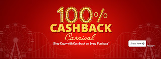 shopclues 100% cashback loot
