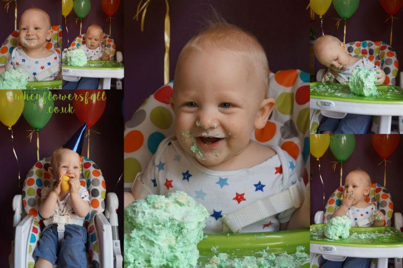 lifestyle, birthday, parent, scout, baby jones, one, whenflowersfall, smashcake