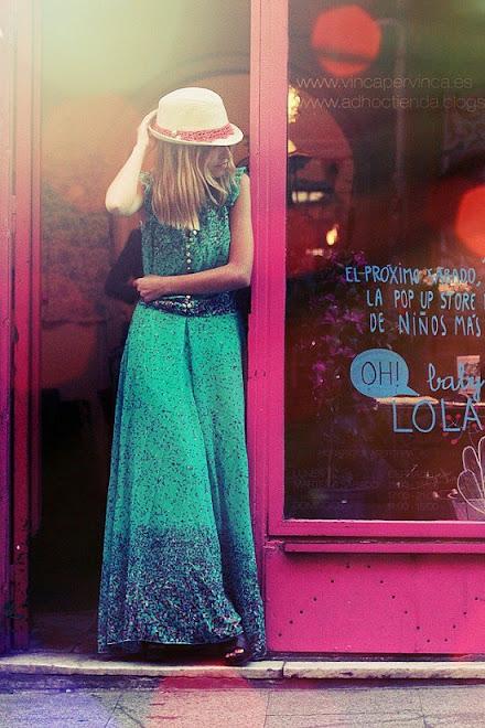 Foto cliente con vestido de galla!