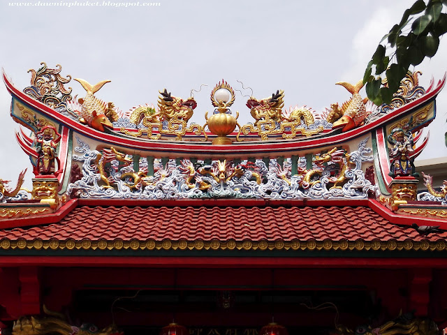 Chnese shrines in Phuket