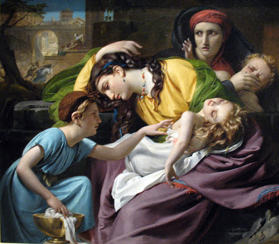 Massacre of Innocents painting, 1824