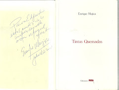 TINTAS QUEMADAS. POESÍA.2001.