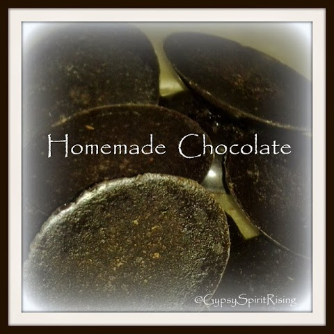 3 Ingredient Homemade Chocolate ~ Thrifty Thursday