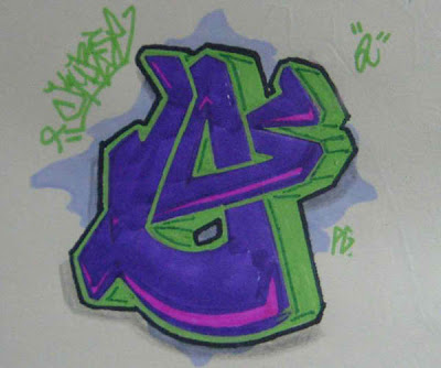How to Make Graffiti Letter O