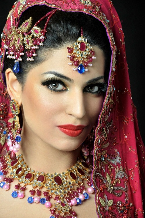 Indain Bridal Makeup 2013 L Makeup For Indian Bridal Collection 2013 | Traditional Life Style ...