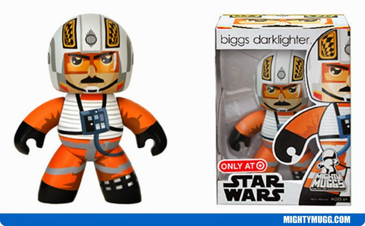 Biggs Darklighter Star Wars Mighty Muggs Exclusives