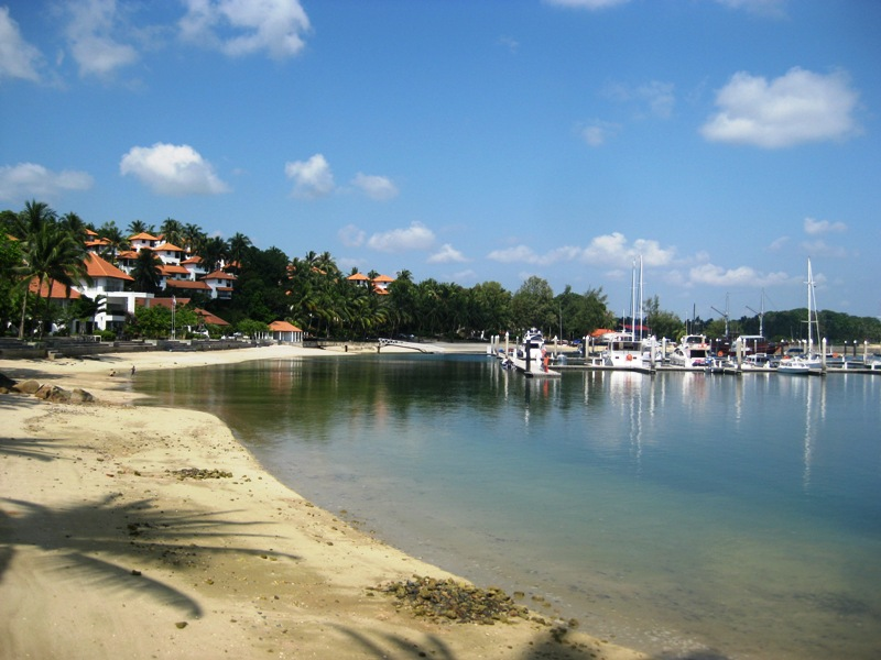 Image result for Pantai Marina batam