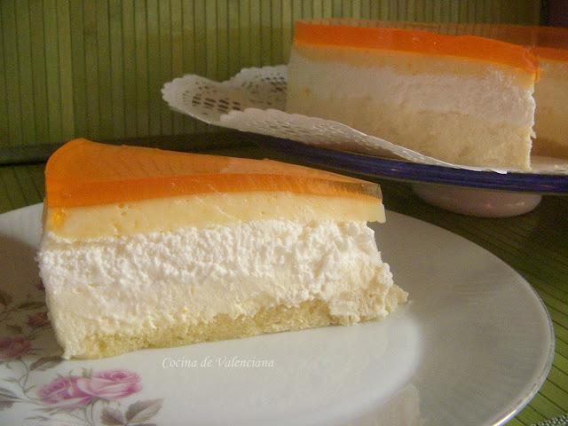 La cocina de valenciana tarta de naranja for Cocina valenciana