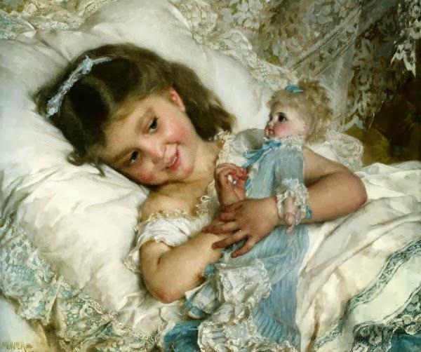 Historia lalki i jej odzwierciedlenie w malarstwie - gorąco polecam !!!