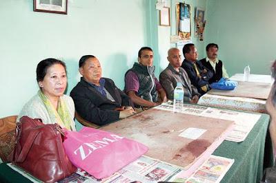 Political forum–'Democratic Front' in Darjeeling