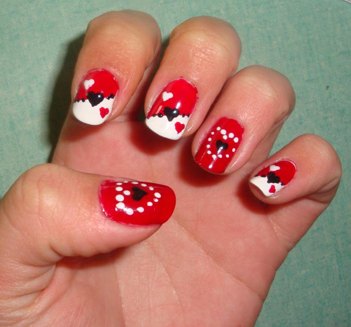 MI TIEMPO LIBRE: Diseño de uñas para San Valentín II