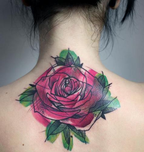 Colored Ink Tattoos Tattoo Techniques And Inks