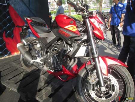 gambar Yamaha MT-25 rage red